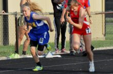 Kassidy West in the 100 meter