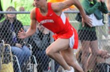 Williams in the 400 meter dash